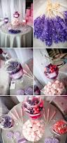 feminine pink and purple baby shower the celebration society