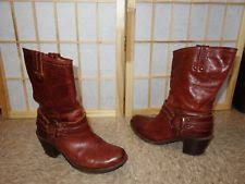 womens brown leather boots size 9 frye harness leather boots size 9 womens shoes