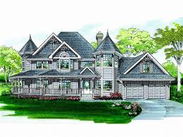large queen anne house plans