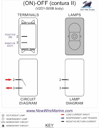 switch rocker switch wiring diagram horn wiring diagrams