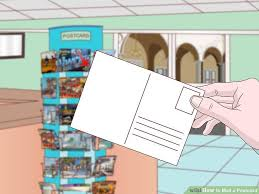 photo postcard how to mail a postcard 6 steps with pictures wikihow