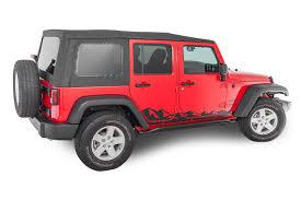 jeep wrangler stickers quadratec 13135 0700 premium vinyl rocker panel mountain decal