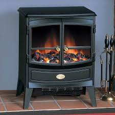 smooth dimplex springborne black optiflame electric stove
