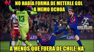Ochoa Memes - barcelona vs granada 1 0 memes liga española memes de memo ochoa