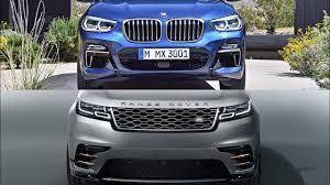 2018 bmw x3 vs 2018 range rover velar youtube