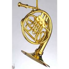 the symphony gift shop horn ornament