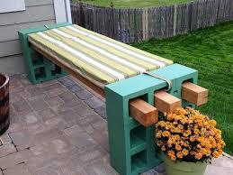 cinder block furniture backyard 10 ways to use cinder blocks