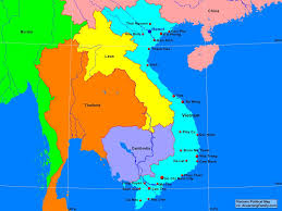 Political Maps Vietnam Political Map A Learning Family