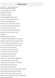 blak pudd u0027n lyrics swv