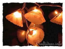 free christmas craft project make a christmas lights garland