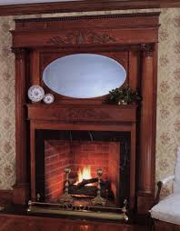 best antique wood fireplace beautiful home design lovely to