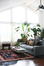 Furniture Best 25 Dark Grey Couches With Pattern Rug And Potted