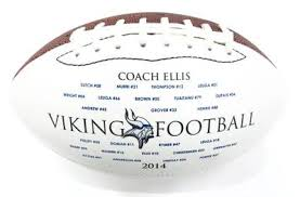 Engraved Football Gifts Personalized Football