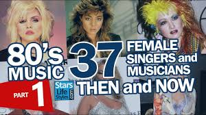 what pop stars pop and rock stars has died this year 80 s music 37 female singers and musicians nowadays part 1 pop