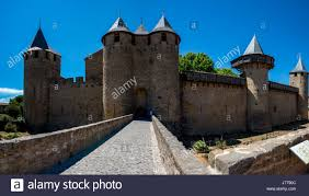 Carcassonne Medieval Carcassonne Is A Fortified Town Rather Than A Castle
