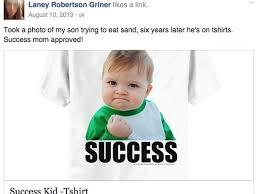 Raising Boys Meme - success kid boy raises 90k for dad s kidney
