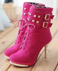 womens pink boots sale fancy platform stiletto heel knee high boots pink suede