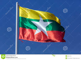 Myanmar Flag Photos New National Flag Of Myanmar Burma Stock Image Image Of Asian