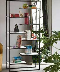 Small Open Bookcase Furnitures Small Dark Wood Narrow Wall Display Bookcase Design