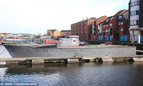 river thames boat brokers ww2 royal navy torpedo boat restored to former glory from a