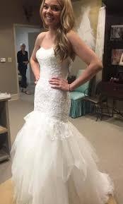 oleg cassini wedding dress oleg cassini strapless mermaid wedding dress 450 size 4 new