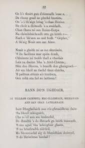si e de 60 hew morrison collection dain agus orain early gaelic book