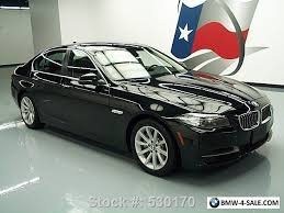 2014 bmw 5 series 535i xdrive awd sunroof nav rear for sale in