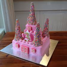 how to make a cake for a girl a princess castle cake the bathonian