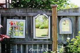 Art In The Garden - how to use mirrors in the garden empress of dirt