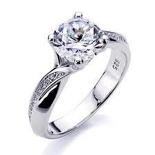 sterling engagement rings images Diamond sterling silver ring sterling silver diamond rings inner jpg