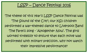 st cuthbert u0027s catholic primary and nursery lssp ks2 dance