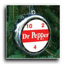 dr pepper sign tree ornament h c coffee premium coffee
