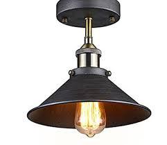 industrial semi flush mount lighting vintage industrial semi flush mount edison ceiling l light free