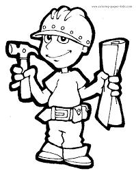 22 job images coloring worksheets