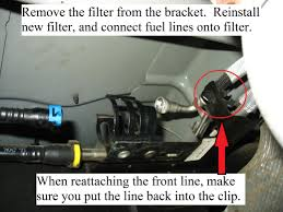 how to replace fuel filter 04 08 f150 ford truck club forum