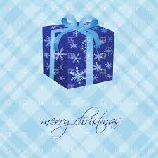 blue christmas gift box vector image 21932 u2013 rfclipart