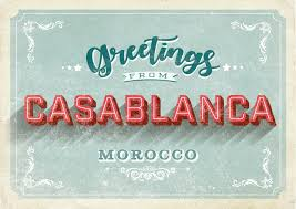send a card online casablanca vintage style vacation greetings send real