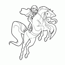 cartoon horse coloring pages for girls free cartoon coloring