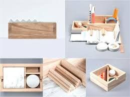 Wood Desk Accessories And Organizers Contemporary Desk Accessories Photo 1 Of Organizers W Modern Uk
