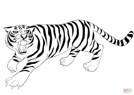 coloring pages of tigers crafty inspiration tiger coloring pages tigers cecilymae