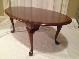 pennsylvania house cherry dining room set pennsylvania house oval cherry coffee table queen anne style