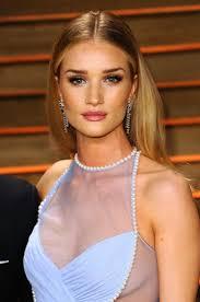rosie huntington whiteley at vanity fair party celebrities hair
