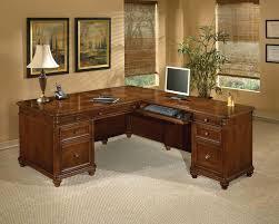 L Shaped Executive Desk Flexsteel Contract Antigua L Shape Executive Desk Reviews Wayfair