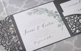wedding invitations toronto laser cut wedding invitations archives impressions custom