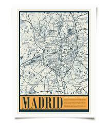 Madrid Map Madrid City Map U2013 Twentyone Creative