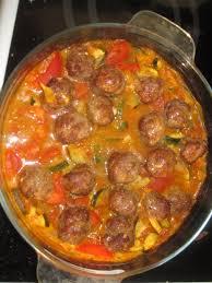 recette de cuisine viande image boulettes de viande à la marocaine recettes weight