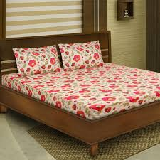 Bombay Dyeing Single Bed Sheets Online India Bombay Dyeing Polycotton Double Bed Sheet Set Bed Sheets