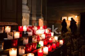 vigil lights catholic church votive candles burning in a catholic stock photos freeimages com