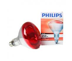 250 watt infrared heat l bulb philips br125 ir 250w e27 230 250v red any l