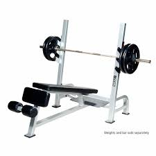 Weight Bench With Bar - commercial olympic decline weight bench